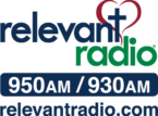 Relevant Radio Logo 950 and 930